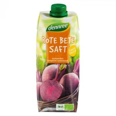 Dennree bio céklalé 500 ml