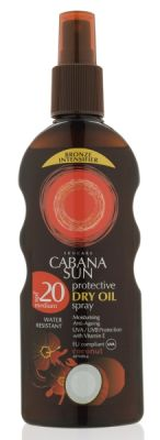 Cabana napolaj spray spf20 kókusz 200ml