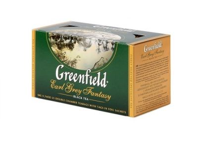 Greenfield earl grey fantasy tea