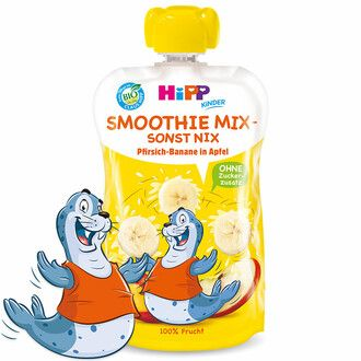 Hipp smoothie mix barack-alma-banán 120