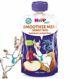 Hipp smoothie mix áfolya-körte-alma 120