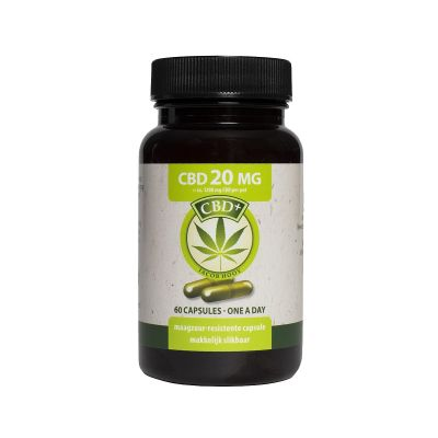 Jacob Hooy CBD+ Kapszula 20mg 60db