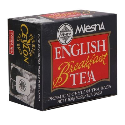 Mlesna english breakfast fekete tea 100g
