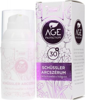Schüssler age protection arcszérum 30+