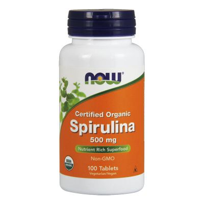 Now spirulina tabletta