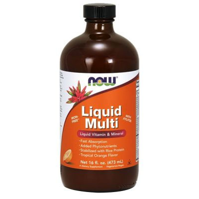 Now liquid multi szirup narancsos