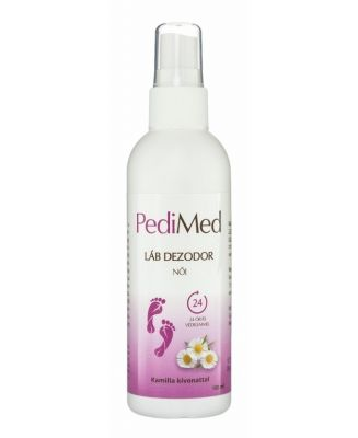 Pedimed lábdezodor spray női