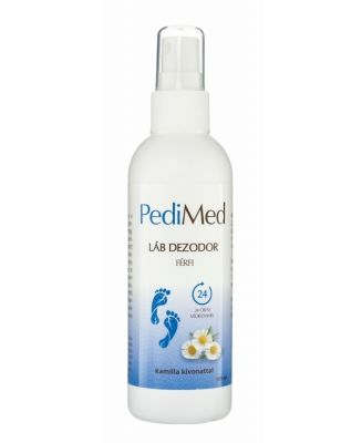 Pedimed lábdezodor spray férfi