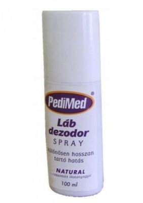 Pedimed lábdezodor spray natúr