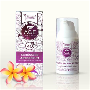 Schüssler age protection arcszérum 40+