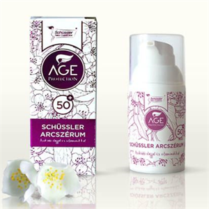 Schüssler age protection arcszérum 50+
