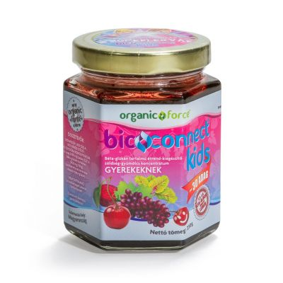 Organic force bioconnect kids koncentr. szuperlekvár