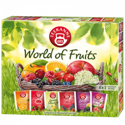 Teekanne world of fruits teaválogatás