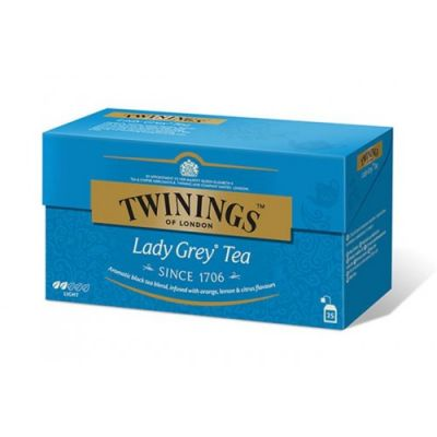Twinings lady grey tea 25 db