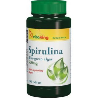 Vitaking spirulina tabletta 500 mg