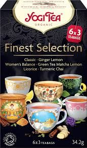 Yogi bio finest selection tea 6x3 db